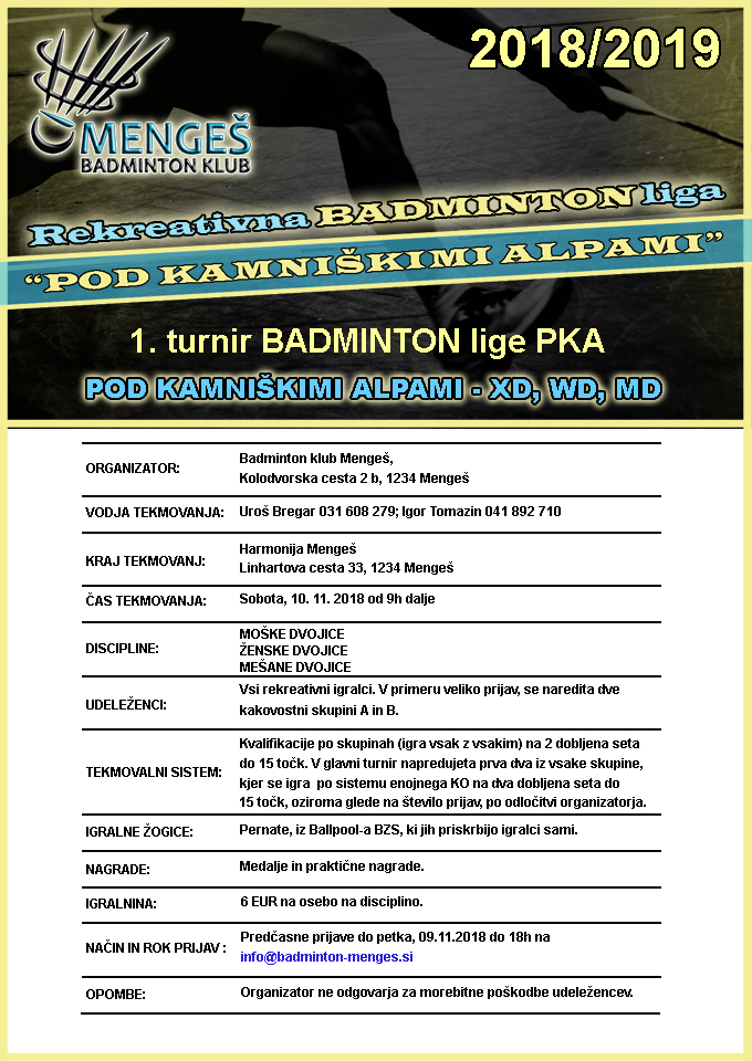 badminton liga pka